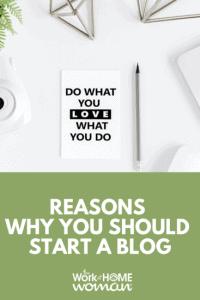 10 raisons pour lesquelles vous devriez créer un blog