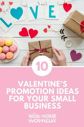 Looking for new ways to market your business this winter? Try out these Valentine's promotion ideas to build a buzz and show your appreciation for your clients! #business #marketing #valentines #winter #promotion #smallbusiness  via @TheWorkatHomeWoman