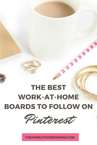 Did you know that Pinterest is a great tool for finding work-at-home jobs? Here's a list of the best work-at-home career boards on Pinterest! via @TheWorkatHomeWoman