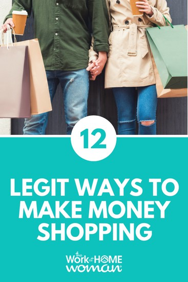 12 Legit Ways to Make Money Shopping