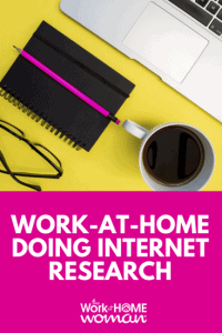 3 Ways to Work-at-Home Doing Internet Research