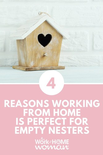 One of the most popular reasons why moms decide to work from home is because they want to be readily available for their children. But what happens once they leave the nest? Here are four reasons why a work-at-home lifestyle is ideal for empty nesters too! #workfromhome #career #emptynest #parent #moms via @TheWorkatHomeWoman