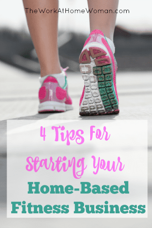 An at-home fitness career is a great way to turn your personal story into a small business. Here are 4 tips for starting your home-based fitness business. via @TheWorkatHomeWoman