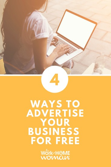 Looking for new and inexpensive ways to market your business? Better yet, how about FREE ways to promote your business? Here are four ideas to get you started. #business #marketing #free via @TheWorkatHomeWoman