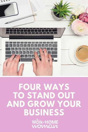 The economy no longer will support mediocrity. Here are four simple suggestions for standing out and growing your business in a crowded playing field. #business #growth  via @TheWorkatHomeWoman