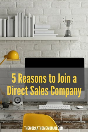 Direct sales from home