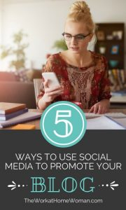 5 Ways to Use Social Media to Promote Your Blog