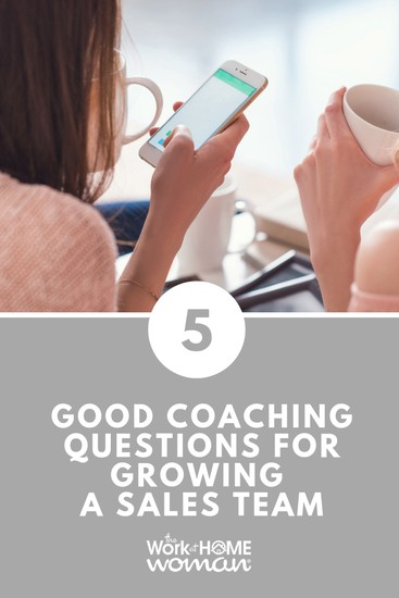 5 Good Coaching Questions For Growing A Sales Team