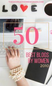 The 50 Best Blogs by Women - 2010
