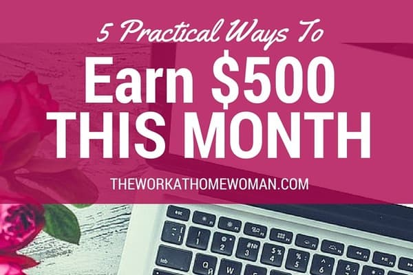 5 Practical Ways to Earn $500 This Month