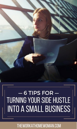 If you have a fulfilling side hustle business, chances are you've considered making it your full-time career. Here's how to turn your hobby into a full-time small business.
