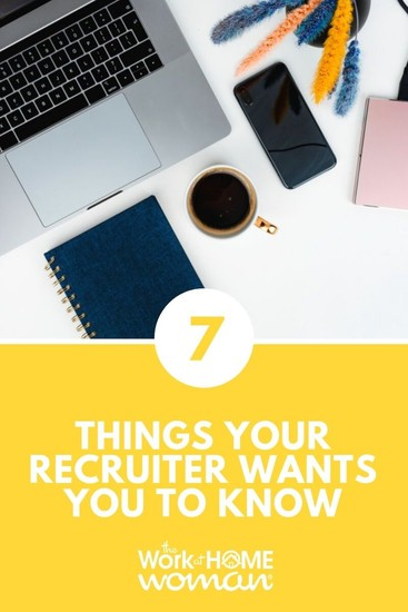 I'm here to debunk some misconceptions about working with a recruiter. Keep these things in mind as you hunt for your next job for greater success. #career #job #recruiter  via @TheWorkatHomeWoman