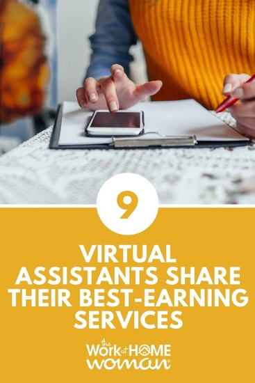 9 Virtual Assistants Share Their Best-Earning Services