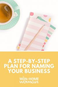 A Step-By-Step Plan for Naming Your Business