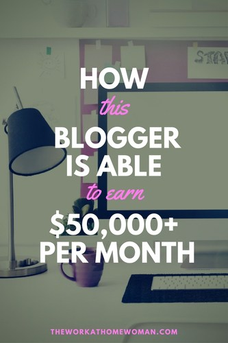 How This Blogger is Able to Earn $50,000+ a Month with Affiliate Marketing