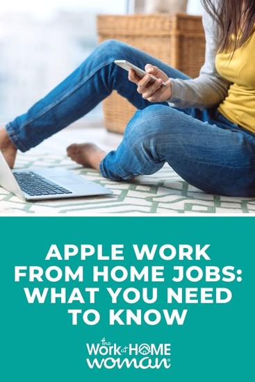 Do you love all things Apple? Are you techy? Then an Apple work from home job might be perfect for you! Here is everything you need to know.