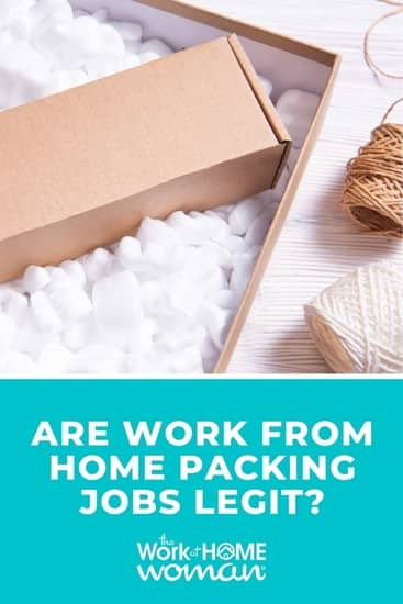 Here's what you need to know about work-from-home packing jobs, how they could be a scam, and legitimate remote jobs to do instead. via @TheWorkatHomeWoman