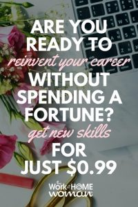 Are You Ready to Reinvent Your Career Without Spending a Fortune Get New Skills for Just $0.99