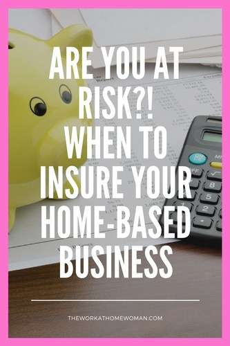Do you have business insurance? Roughly 60 percent of home-based businesses lack sufficient insurance coverage. Read on to see if you're at risk for loss, damage, or lawsuits!  via @TheWorkatHomeWoman
