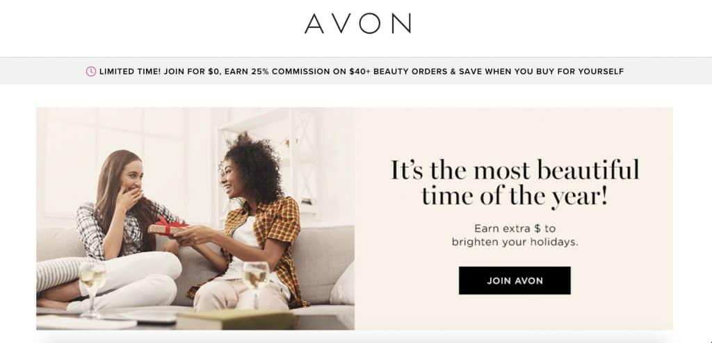 direct sales canada - avon