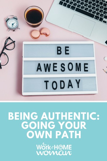 Are you hiding your true self because of fear? If you're ready to break free and start being authentic, here are three tips for being true to yourself.  #authenticity #trueself #selfdevelopment https://www.theworkathomewoman.com/being-authentic/ via @TheWorkatHomeWoman