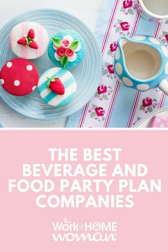 Would you like to get paid for talking about your love of culinary delights? Here are some beverage and food party plan companies where you can make money from home! #directsales #business #workfromhome via @TheWorkatHomeWoman