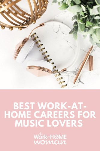 Do you LOVE music? Would you like to work from home? Good news, there are many home-based careers for music lovers available. If you've got a song in your heart or an ear for talent -- check out these great work from home opportunities! #music #workfromhome #workathome #jobs #career #business via @TheWorkatHomeWoman