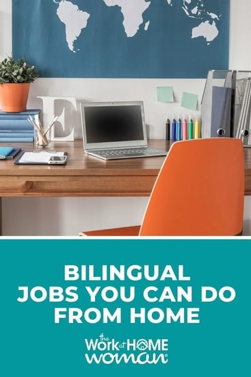 If you're looking for a remote job that uses your multilingual skill set, these are the best bilingual jobs that you can do from home. via @TheWorkatHomeWoman