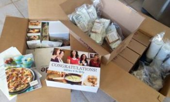 What Comes in the Tastefully Simple Business Blast Off Kit®?
