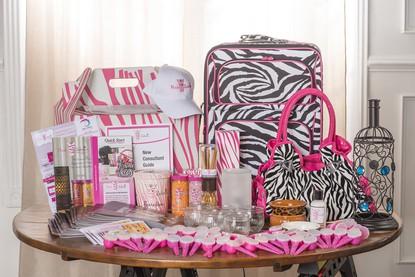 Pink Zebra Deluxe Business Kit