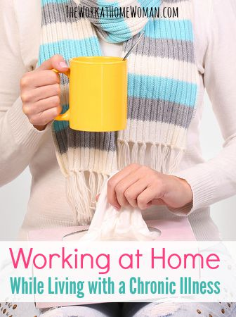 Let's face it. When your body has unpredictable and demanding needs — it makes even the smallest task feel like a major burden. Here are some steps you can take to adopt a strategic plan that allows you to be more successful in working at home while living with a chronic illness.  via @TheWorkatHomeWoman