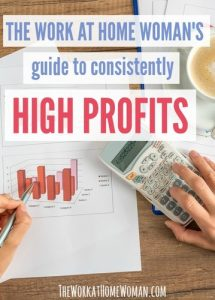 The Work at Home Woman's Guide to Consistently High Profits
