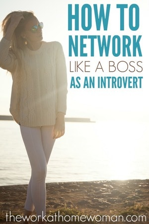 Having a shy personality doesn't mean you can't network like a boss. Here are some simple networking tips for introverts that will help you thrive in the work world without having to change your identity. via @TheWorkatHomeWoman
