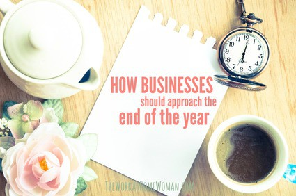 How Businesses Should Approach the End of The Year