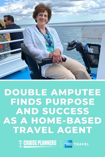 As an avid traveler, Debra has found purpose helping people with disabilities see the world with her at-home travel agent business.