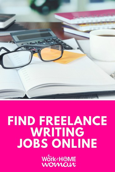 Find Freelance Writing Jobs Online