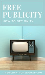 Free Publicity - How to Get on TV