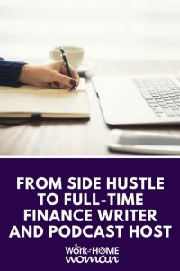 From Side Hustle to Full-Time Finance Writer and Podcast Host - Sarah Li-Cain