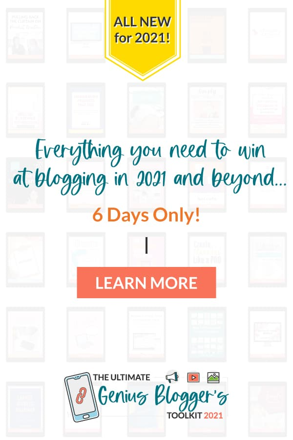 You've probably heard the buzz about The Genius Blogger's Toolkit, but what is it, and can it really help you with your blogging efforts? Well, today, I'm reviewing the 2021 bundle so you can make an informed decision. via @TheWorkatHomeWoman