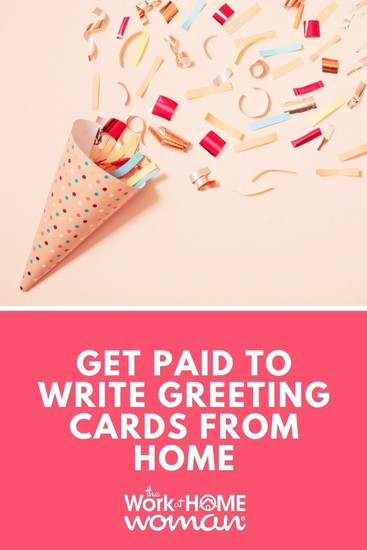 Get Paid To Write Greeting Cards From Home