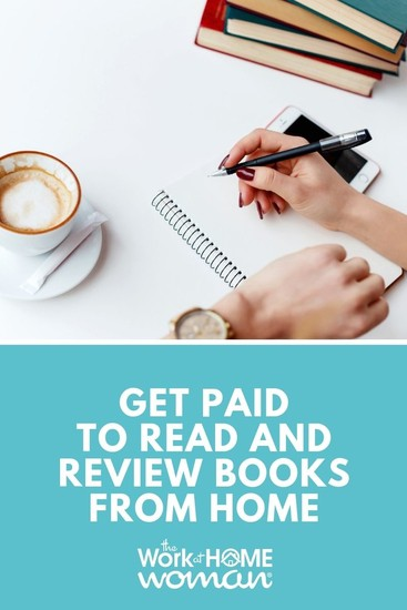 Would you like to get paid to read books? If you love reading, then a paid book reviewer job is the perfect work-at-home opportunity for you! #reading #books #money via @TheWorkatHomeWoman