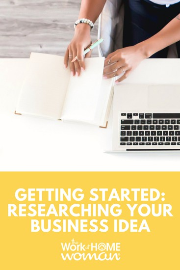So you have a new idea for a product or service, great. But before you invest time and money - you need to start researching your business idea. Here's how. #business #idea #research via @TheWorkatHomeWoman