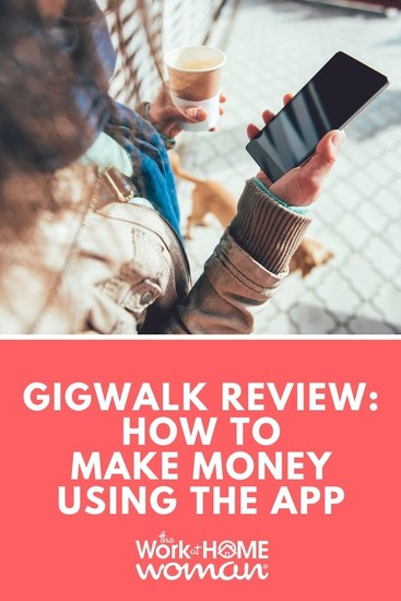 Making money with your smartphone has never been easier! After reviewing several money-making apps, I decided to join Gigwalk. Here's everything you need to know about the app and if it's right for you. via @TheWorkatHomeWoman