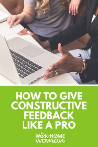 How to Give Constructive Feedback Like a Pro