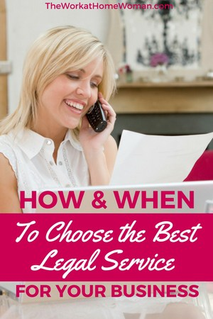 How and When to Choose the Best Legal Service for Your Business