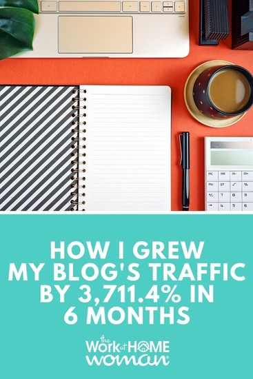 How I Grew my Blog's Traffic by 3,711.4% in 6 Months