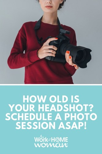 How Old is Your Professional Headshot? Schedule a Photo Session ASAP!