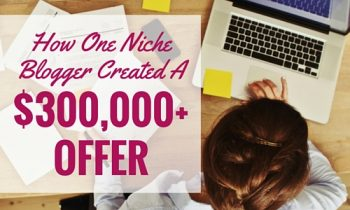 creating a membership site - How One Niche Blogger Created a $300,000+ Offer