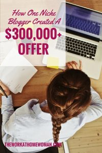 How One Niche Blogger Created a $3,000+ Offer