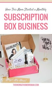 How This Mom Started a Monthly Subscription Box Business